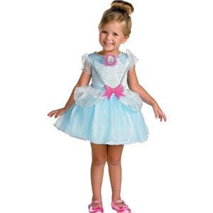 Princess Cinderella Ballerina Girls Costume Size 4-6