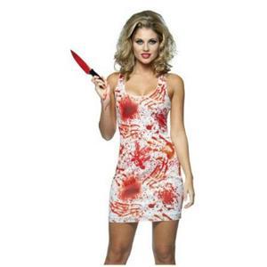 Bloody Tank Dress Adult Costume Size 4-10