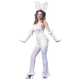 Sexy Hunny Bunny Rabbit Velvet Costume S/M 2-8