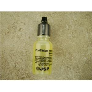 Platinum Solution - Test Stone & Instructions