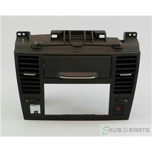 2007-2009 Nissan Versa Radio Dash Trim Bezel with Vents, Hazard switch