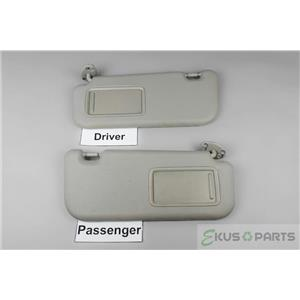 2006-2011 Toyota Yaris Sun Visor Set with Covered Mirrors