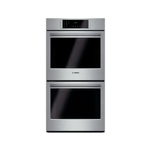 "Bosch 800 Series 27"" 12 Modes Eco Clean Double Electric SS Wall Oven HBN8651UC"