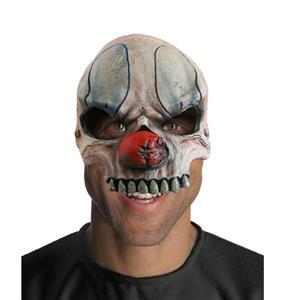 Chuckles Chinless 1/2 Vinyl Evil Clown Mask