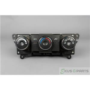 2008 Chevrolet Equinox Climate Control Unit / Panel with Manual & Rear Defrost