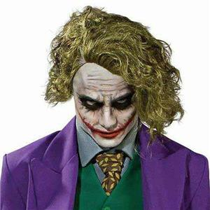 The Dark Knight Batman The Joker Adult Green Wig