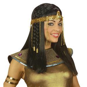 Egyptian Headress Beaded ASP Accessory for Ancient Egypt Fancy Dress