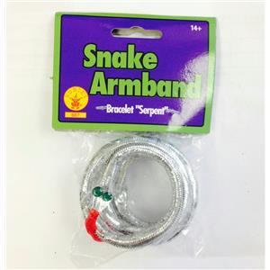 Silver Snake Armband Bracelet Asp Cleopatra