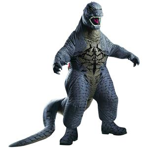 Deluxe Godzilla Adult Inflatable Costume Standard Size