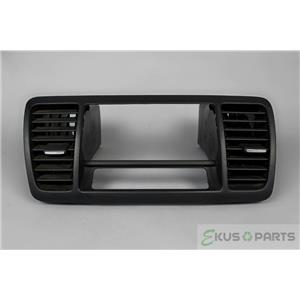 2005-2009 Subaru Legacy Radio Climate Combo Trim Bezel with Vents