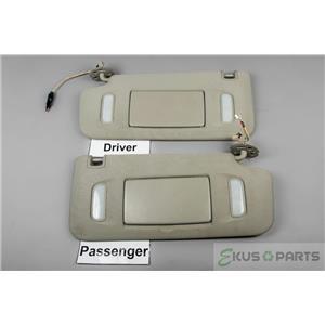 10-14 GMC Acadia Terrain Chevrolet Equinox Traverse Buick Enclave Sun Visor Set