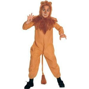 Wizard of Oz Child's Cowardly Lion Costume Size Small