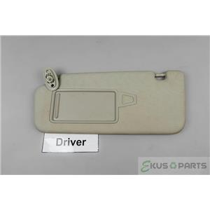 2010-2013 Kia Forte Driver Side Sun Visor Covered Mirror Extension Panel
