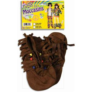 Hippie/Native American Moccasins - Child 1 - 5