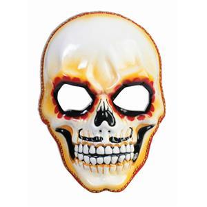 Day of the Dead Senor Skull Deluxe Mask