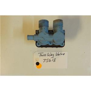 Whirlpool  Washer 75618   Two way valve  used part
