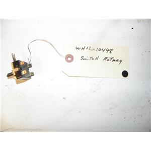 GE WASHER WH12X10498 ROTARY SWITCH USED PART ASSEMBLY