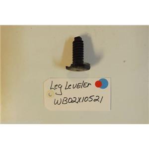 HOTPOINT Stove  WB02X10521  Leg Leveler  USED PART