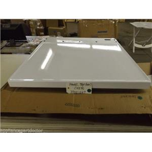 Maytag Crosley Dryer  37001027  Panel, Top (wht)    NEW IN BOX