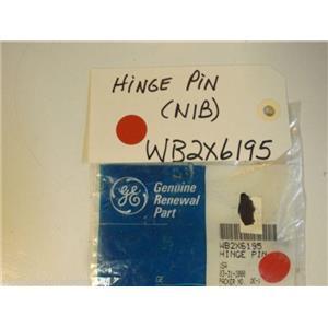 GE Stove  WB2X6195 HINGE PIN NEW IN BOX