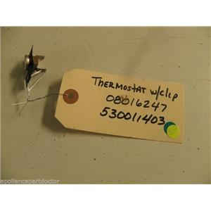 FRIDGIDAIRE DISHWASHER 8016247 5300114003 THERMOSTAT USED PART ASSEMBLY