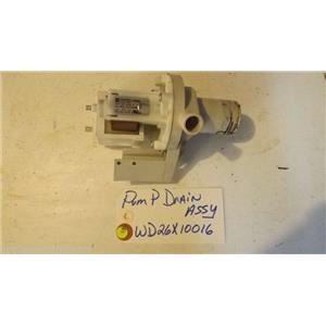GE DISHWASHER WD26X10016  Pump Drain  USED PART
