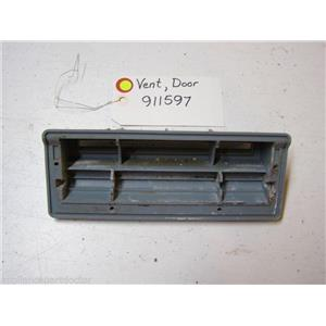 MAYTAG DISHWASHER 911597 DOOR VENT USED PART ASSEMBLY