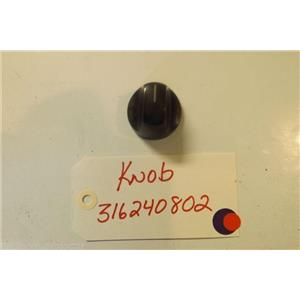 KENMORE STOVE 316240802  knob  USED PART