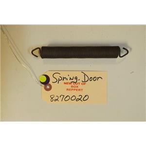WHIRLPOOL DISHWASHER 8270020  Spring, Door Balance   NEW W/O BOX