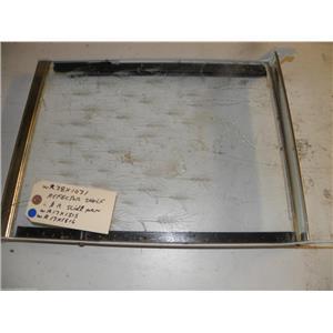 GE REFRIGERATOR WR38X1031 WR17X1515 WR17X1516 REFLECTOR SHELF W/ L & R SLIDE PAN