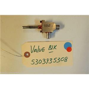 KENMORE STOVE 5303935308   Valve  blk   used