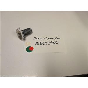 KENMORE OVEN 316272900 SCREW LEVELER USED PART ASSEMBLY