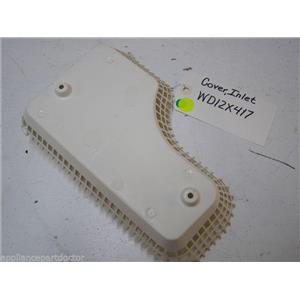 GE DISHWASHER WD12X417 INLET COVER USED PART ASSEMBLY