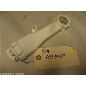 KENMORE DISHWASHER 8268317 CAP USED PART ASSEMBLY