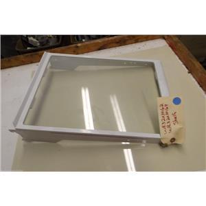 GE REFRIGERATOR WR32X10164 WR32X10162 SNAP ON GLASS SHELF