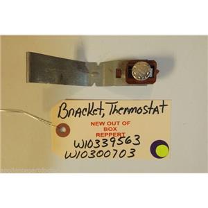 KITCHENAID DISHWASHER W10339563  W10300703  Bracket, Thermostat    NEW W/O BOX