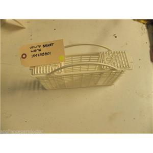 FRIGIDIARE DISHWASHER 154238801 WHITE UTILITY BASKET USED PART F/S