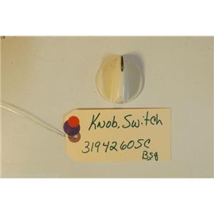AMANA STOVE 31942605C     Knob, Switch (bsq)    USED