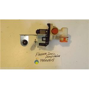 MAYTAG DISHWASHER 99002815 Flapper, Drain Pump Valve used part