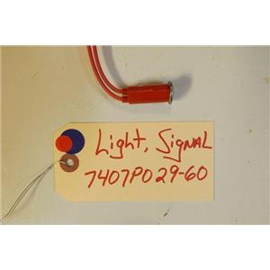 MAGIC  CHEF STOVE 7407P029-60 Light, Signal   USED PART