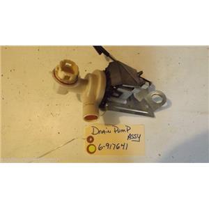 JENN AIR DISHWASHER 6-917641  Drain Pump used part