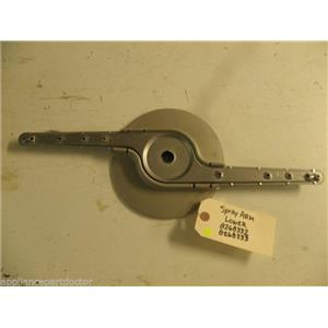 WHIRLPOOL DISHWASHER 8268332 8268333 WASH ARM USED PART ASSEMBLY F/S