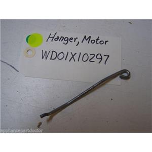 GE DISHWASHER WD01X10297 MOTOR HANGER USED PART ASSEMBLY