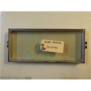 TAPPAN STOVE 3016787 Glass, Package    USED