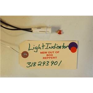 FRIGIDAIRE STOVE 318293901    Light,indicator ,125v    NEW W/O BOX