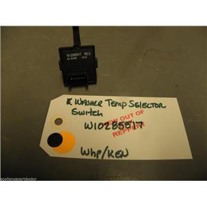 Kenmore Whirlpool Washer Water Temperature Selector Switch W10285517 NEW W/O BOX