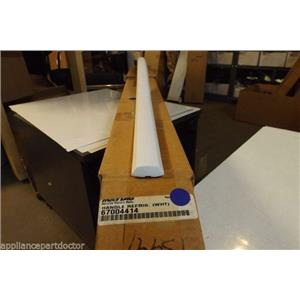 Maytag refrigerator Whirlpool 67004414 Handle, Refrig (wht)  NEW IN BOX