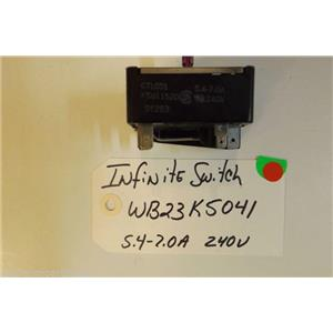 KENMORE Stove  WB23K5041  Infinite switch  5.4-7.0 a  USED PART