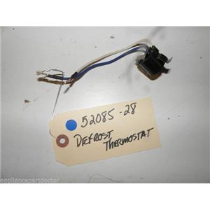 MAYTAG REFRIGERATOR 52085-28 5208528 DEFROST THERMOSTAT USED PART  FREE SHIPPING