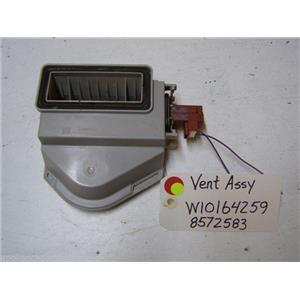 KITCHEN AID DISHWASHER W10164259 8572583 VENT USED PART ASSEMBLY